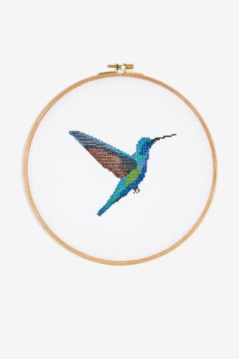 Colibri - Diagramme point de croix