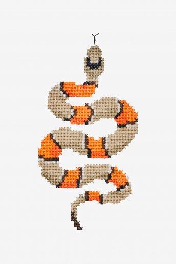 Serpent - Diagramme point de croix