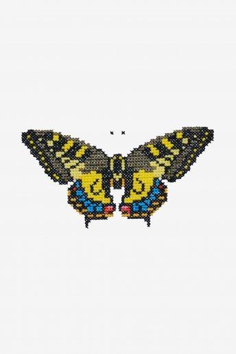 Papillon - Diagramme point de croix