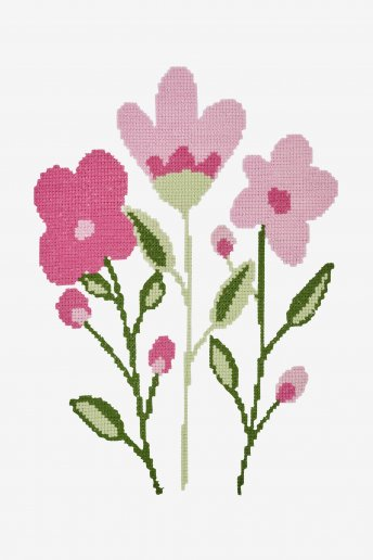 Pink Modern Floral - pattern