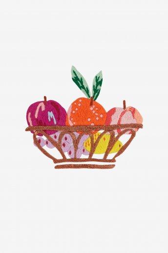 Fruit Bowl Fantasy - pattern