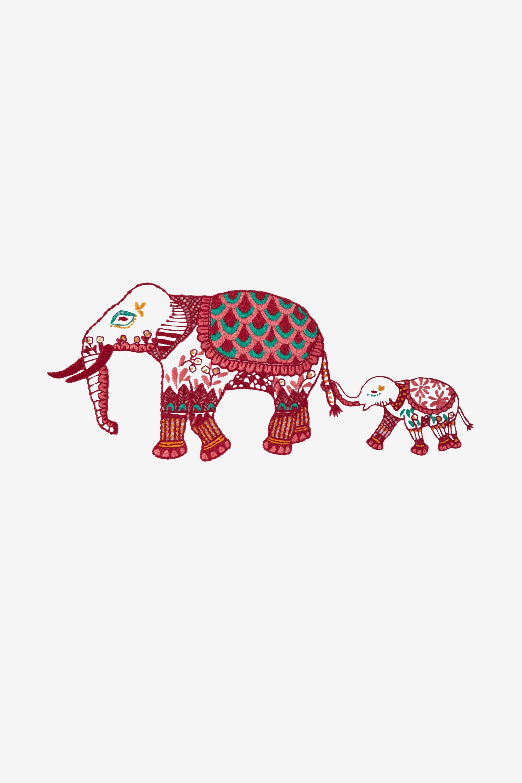 Elefante de crochet indio Jyoti | CrochetyAmigurumis.com | 3000x2000