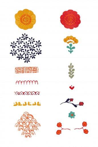 Marigold Elements - pattern