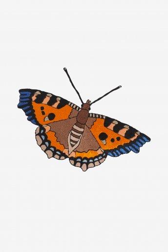 Small Tortoiseshell Butterfly - pattern