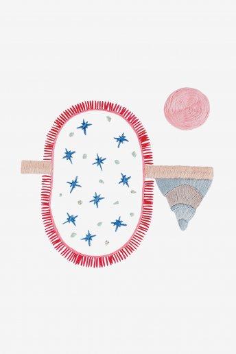 Geometric stars - pattern