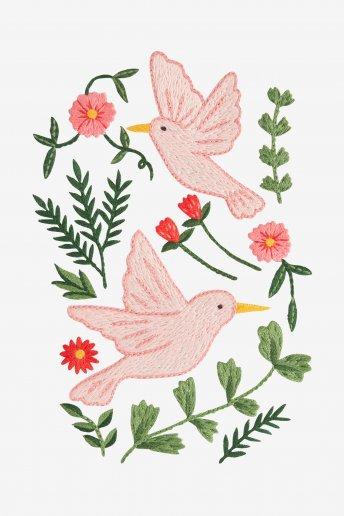 Birds - pattern