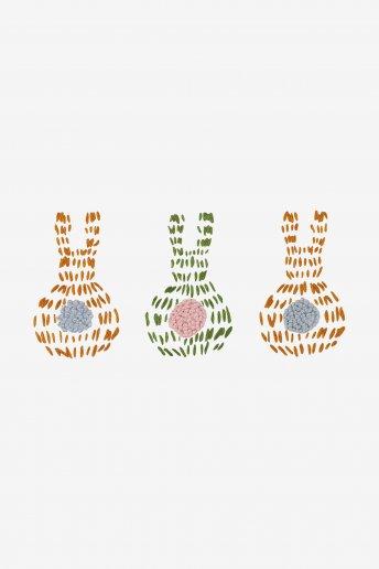 Bunnies - pattern