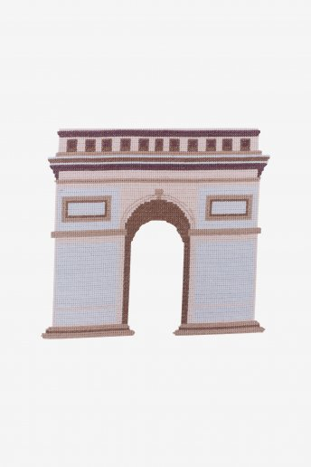 Arc de triomphe - Diagramme point de croix