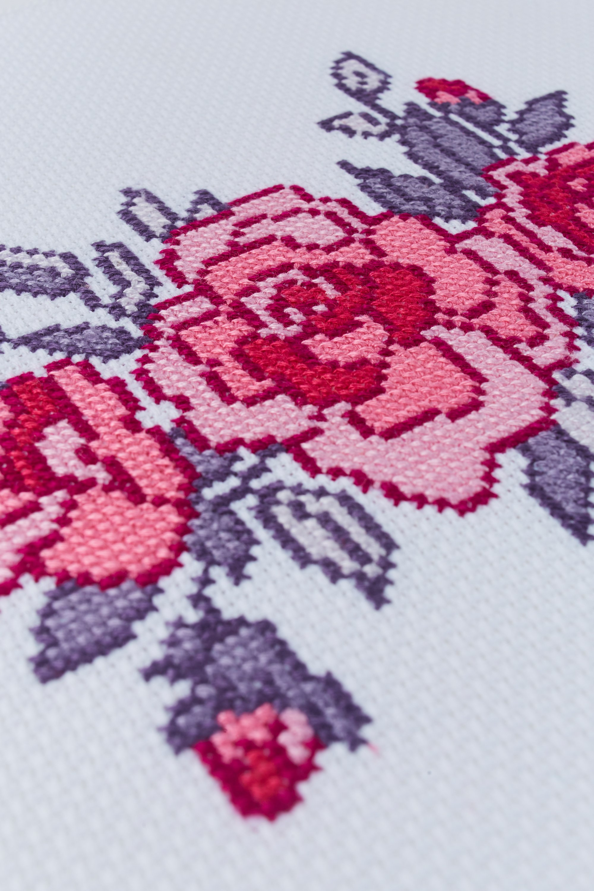 DIY Chart Counted Cross Stitch Patterns Needlework embroidery Rambling Roses