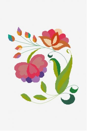 Mexican Spring Bloom - pattern