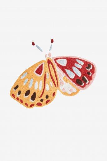 Papillon cethosia- motif broderie