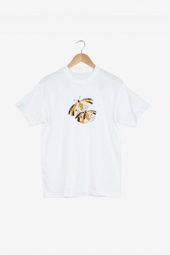 Papillon léopard - motif broderie