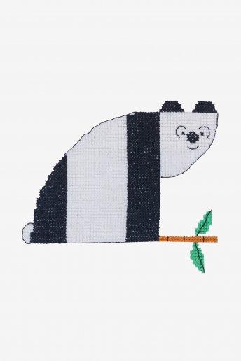 Panda - Diagramme point de croix