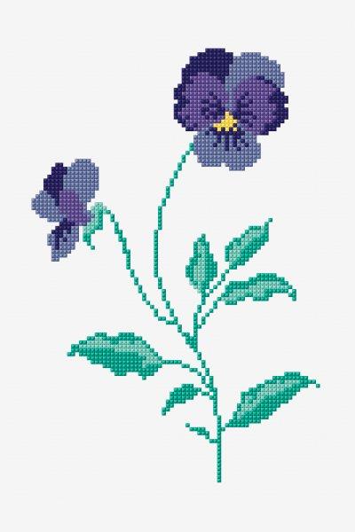 830 Kreuzstich Blumen Ideen In 2021 Kreuzstich 5