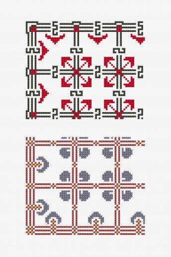 Point de marque 6.9 - Diagramme point de croix