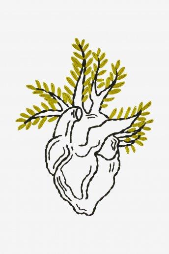 Wild Heart - pattern
