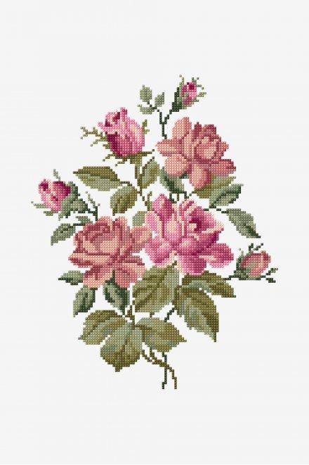 Bouquet di Rose - SCHEMA GRATUITO