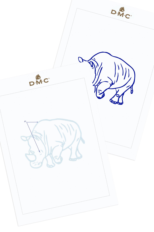 Rinoceronte amigurumi parte 1 - BICHO DE PÉ - YouTube | 3000x2000