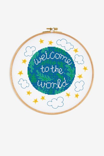 Welcome To The World - pattern