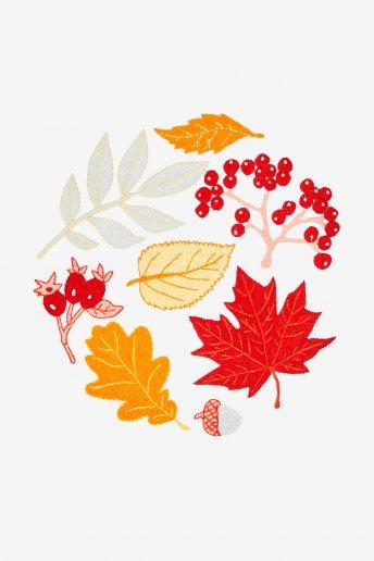 Autumn Leaves - pattern