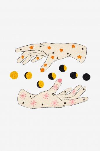 La luna nelle mie mani - Schema gratuito