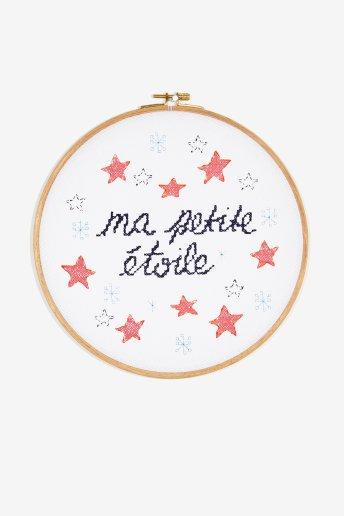 Ma petite étoile - Diagrama de punto cruz