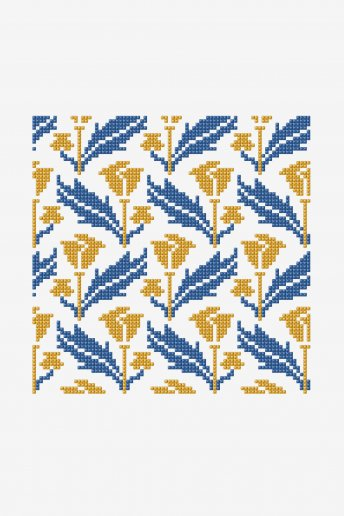 Yellow Tulips - pattern