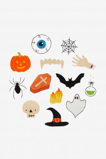 Spooky Objects - pattern