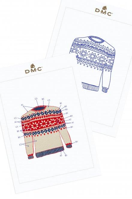 Camisola de Natal - ESQUEMA