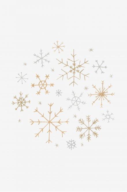 Flocos de neve - ESQUEMA