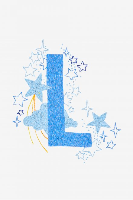 Star sampler - L - pattern