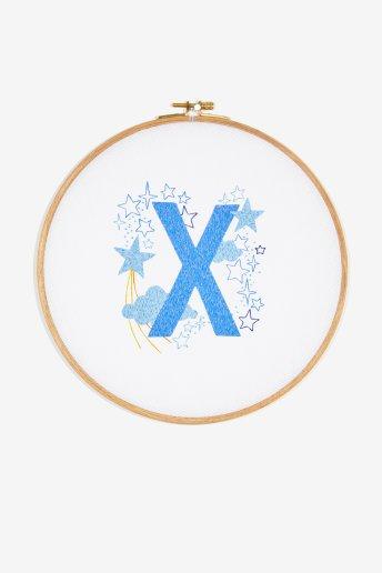 Star sampler - X - pattern