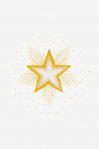 L'Étoile du nord - motif broderie
