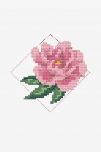Pink Peony by Janelle Metcalfe - pattern