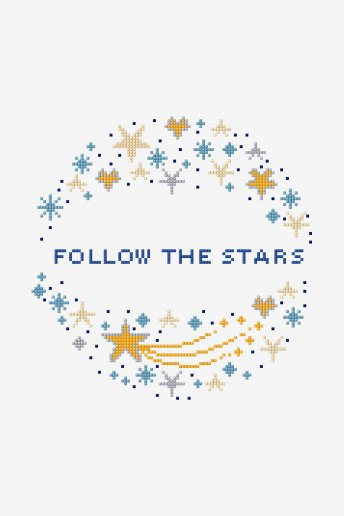 Follow The Stars - pattern