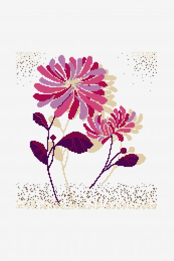 Composizione floreale - SCHEMA GRATUITO