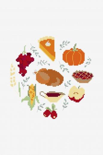 Jantar de Ação de Graças - ESQUEMA