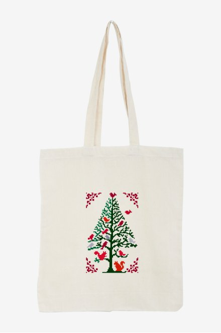 Christmas tree - Forest animals - pattern