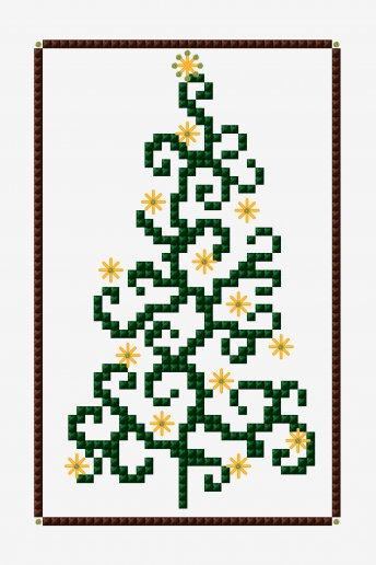 Shiny ornaments - pattern