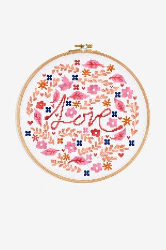 Love - pattern