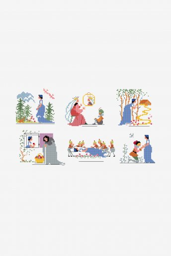 Snow White - pattern