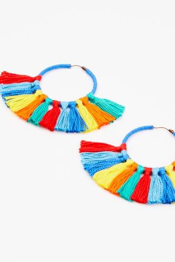 Tassel Earrings - pattern