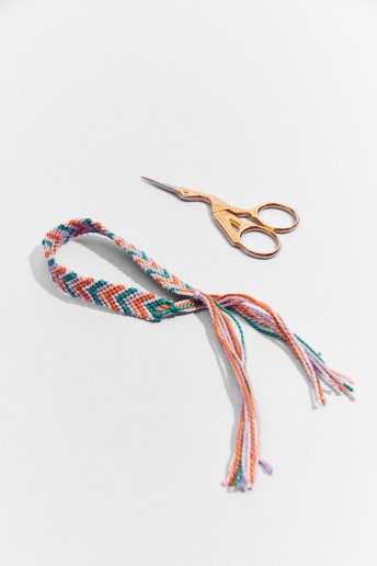 Chevron Friendship Bracelet - pattern