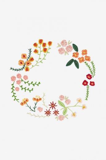 Autumn Flowers  -pattern