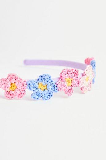 Blumen-Stirnband - ANLEITUNG