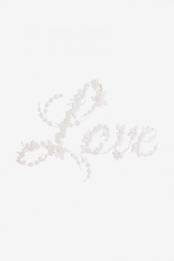 Amour classique - motif broderie