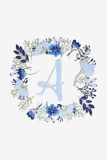 Letters In Bloom - pattern