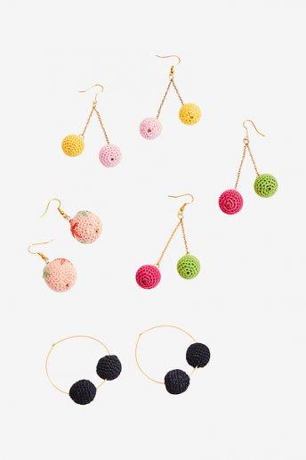 Sphere Earrings - pattern