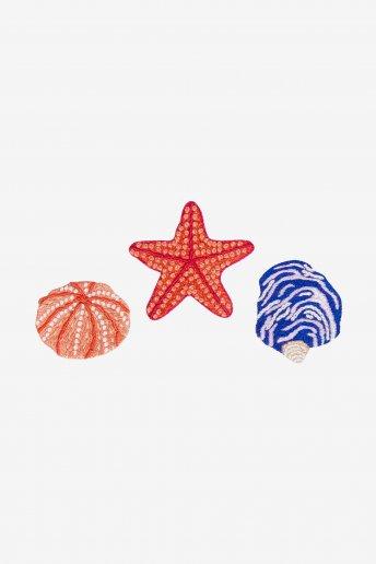 Sea Urchin, Starfish & Shell - patterns