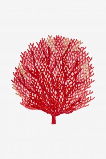 Sea Fan Coral - pattern